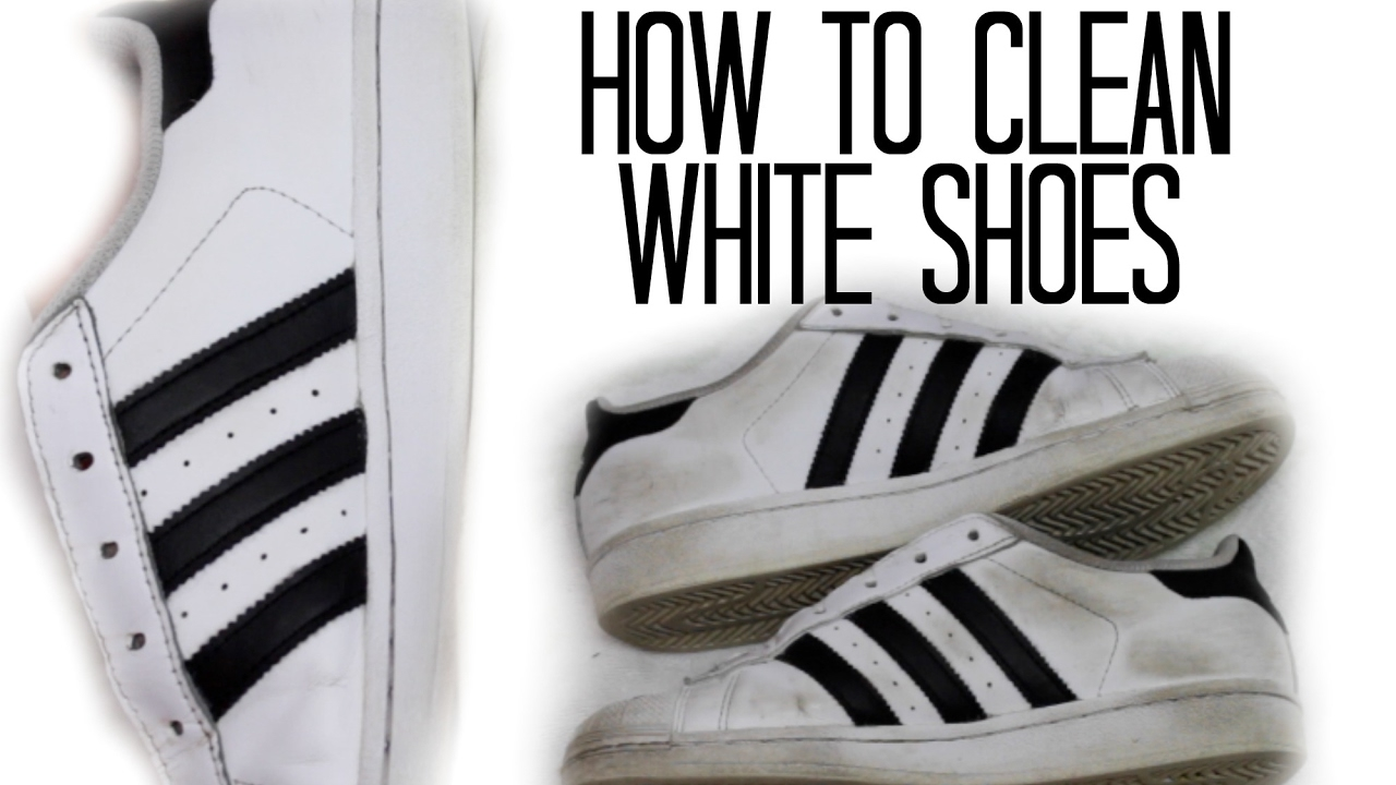 HOW TO CLEAN ADIDAS SUPERSTARS | EASY AND FREE | Stesha