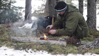 How to Start A Fire with ONE MATCH in the WOODS, Bushcraft Day Kit, New Documentary Series Chat