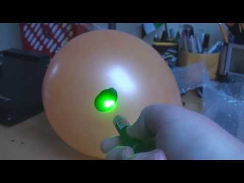 5mW Laser Pointers from eBay Unboxing & Review