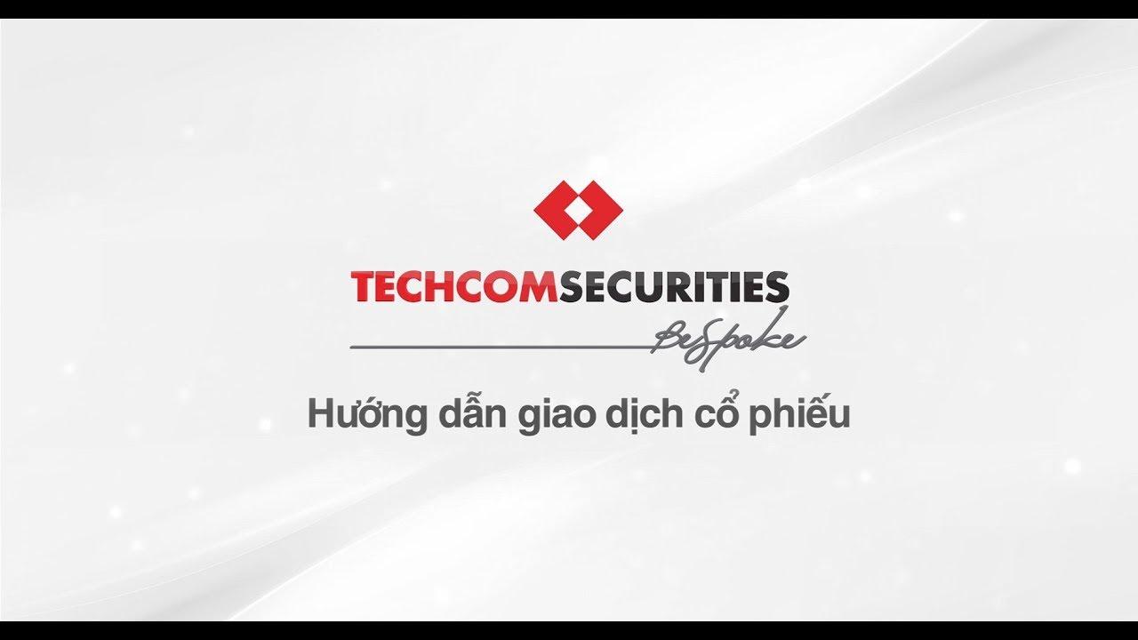 Đặt lệnh cổ phiếu Techcombank