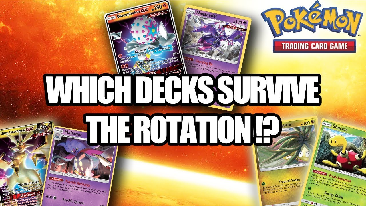Best Pokemon Deck 2020 WHICH POKEMON TCG DECKS SURVIVE THE ROTATION!? (Season 2019 2020