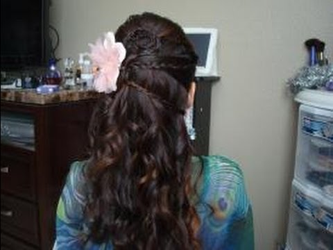 Beautiful Half Up Half Down Hair Styles For Wedding Prom Special