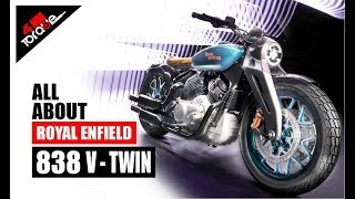 1.2 Million Views  |  All About Royal Enfield 838 V-Twin Bobber Concept KX  |  41NM TORQUE