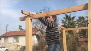 Defa Düz Pergole Kurulum Videosu