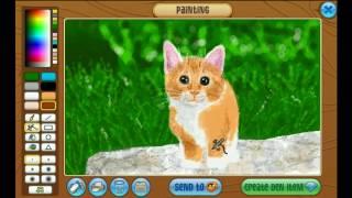 Animaljam Speedpaint   Kitten