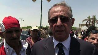 Egypt: pro-President Sisi demo held outside Barakat
