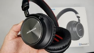 Video Loudest Bluetooth Wireless Headphones Under $40 | Aomais Voice Review download MP3, 3GP, MP4, WEBM, AVI, FLV Juli 2018