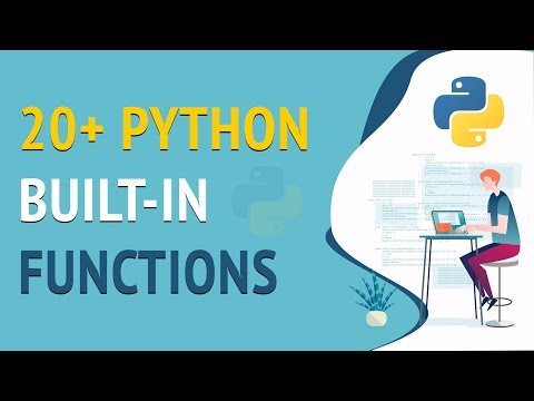 #9 Python Tutorial for Beginners - 20+ Python Built-in Functions thumbnail