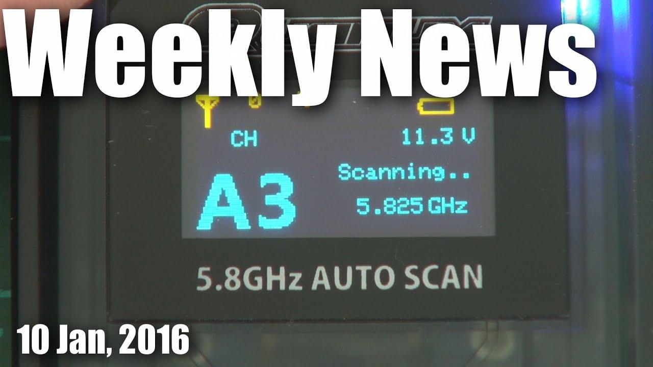 Weekly News (10 Jan, 2016)