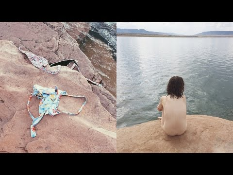 Swimming naked in the rain ❀NEW MEXICO VLOG 5❀