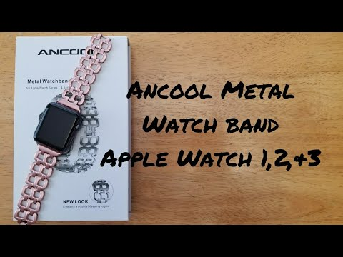 Ancool metal Apple Watch band series 1, 2, and 3