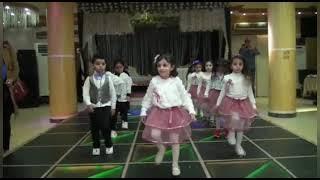 حفله حضانه إشراقة (عربي-لغات) عرض(كف علي اليمين وكف علي الشمال)
