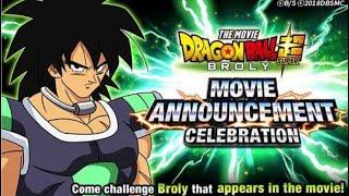 NEW MOVIE BROLY COMING TO DOKKAN BATTLE?! NEW EZA EVENT! Dragon Ball Z Dokkan Battle