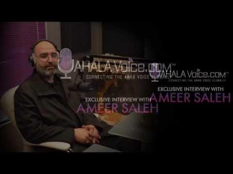 Dr. Ameer Saleh on Yahala Voice  الدكتور امير صالح