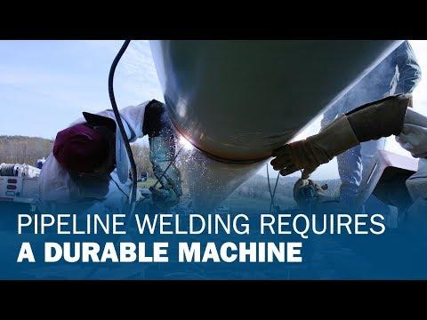Pipeline Welding Requires a Durable Machine