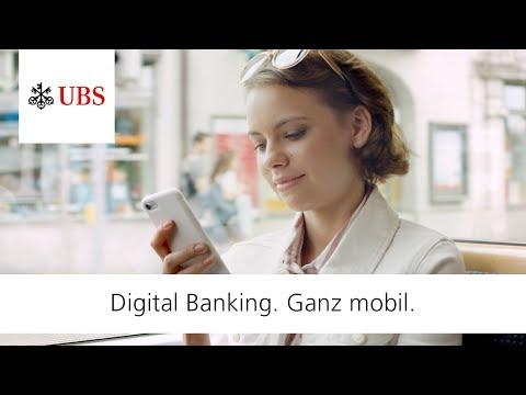 UBS Digital Banking. Ganz Mobil.