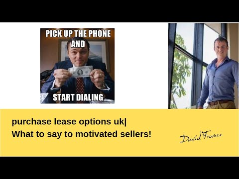 Calling motivated sellers