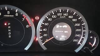 Датчик уровня бензина при работе на ГБО Honda accord 8