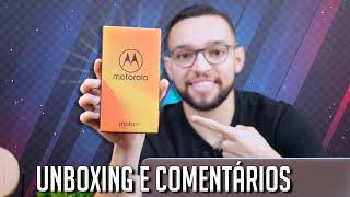 Moto E5 Plus | UNBOXING E COMENTÁRIOS