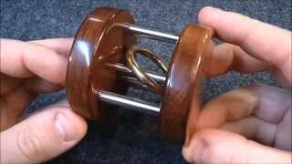 Repeat youtube video Trapped ring puzzle/trick IMPOSSIBLE (not really)