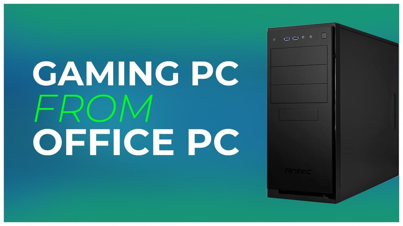 Gaming Pc Build From Office Pc L Intel Core I7 870 Gtx 750 Test