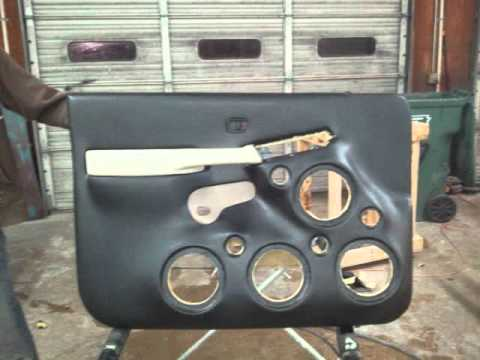 Fiberglass doors dc rockford pioneer sundown youtube for 04 chevy silverado door speakers