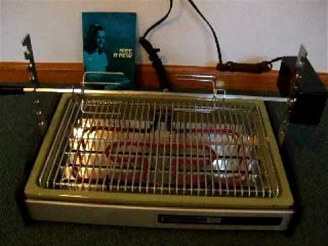 Hamilton Beach Indoor Electric Rotisserie Smokeless Grill