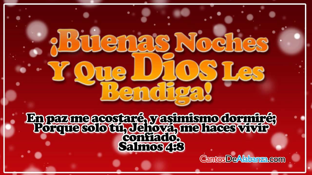 Buenas Noches Dios Les Bendiga Video Tarjetas Cristianas 92612