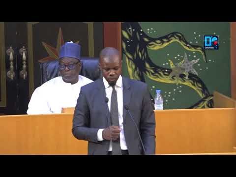 Assemblée nationale  Intervention du député Ousmane Sonko