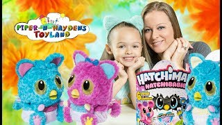 Piper and Mama | Unboxing Hatchibabies