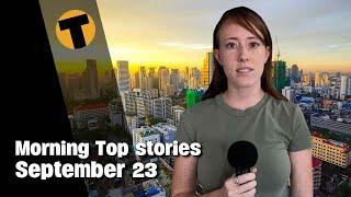Morning Top Stories   CCSA says Nov 1 Re-opening possible, Joe Ferrari update   September 23