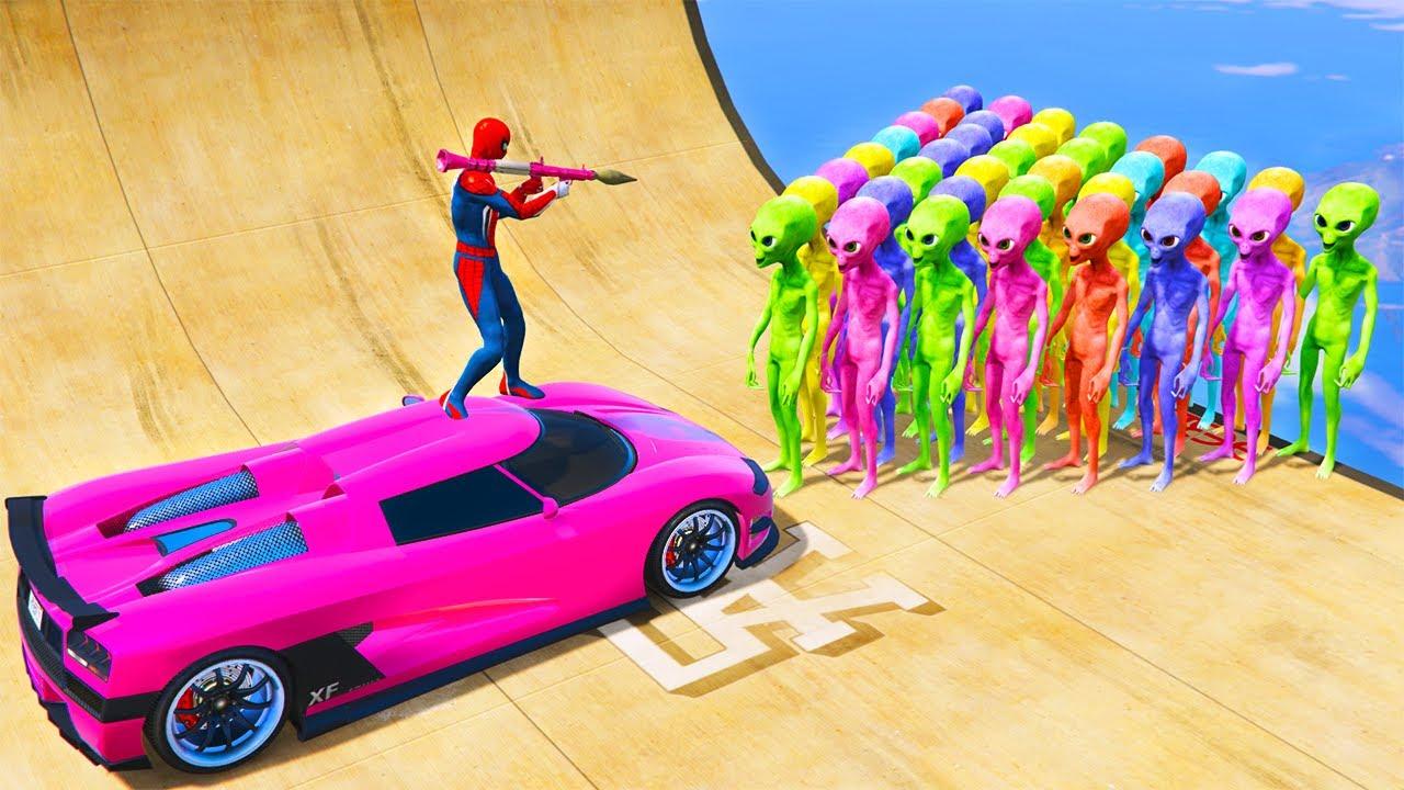 GTA 5 Crazy Ragdolls RED SPIDERMAN vs Siren Head vs Ninja Turtles (Euphoria Physics, Funny Moments)