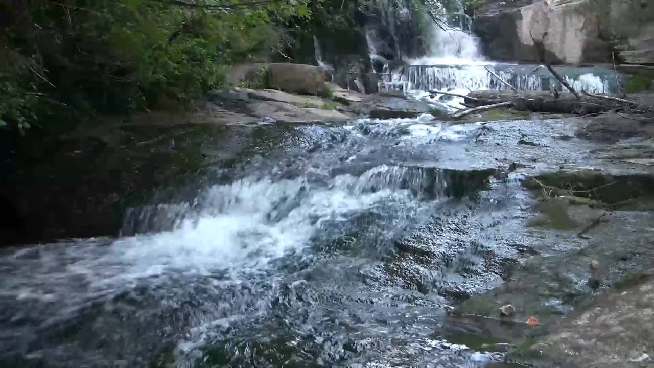 Very Relaxing 3 Hour Video of SMALL Waterfall