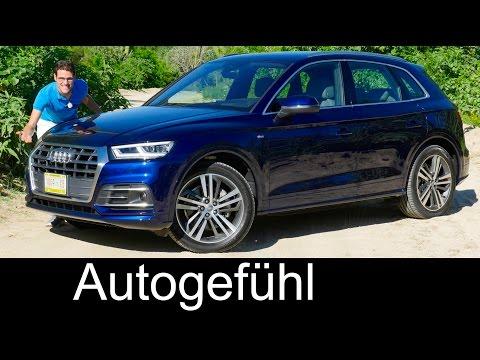 Audi Q5 FULL REVIEW test driven S-Line onroad/offroad 2.0 TFSI 3.0 TDI all-new neu 2017/2018