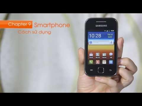 Cách sử dụng Samsung Galaxy Y