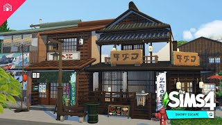 Japanese Bar   The Sims 4: Snowy Escape