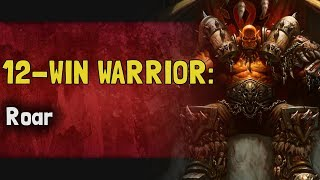 Hearthstone Arena | 12-Win Warrior: Roar (Rastakhan #4)