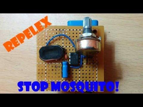 Repelente ultrasonico para mosquitos con 555 youtube - Ahuyentador de mosquitos ...