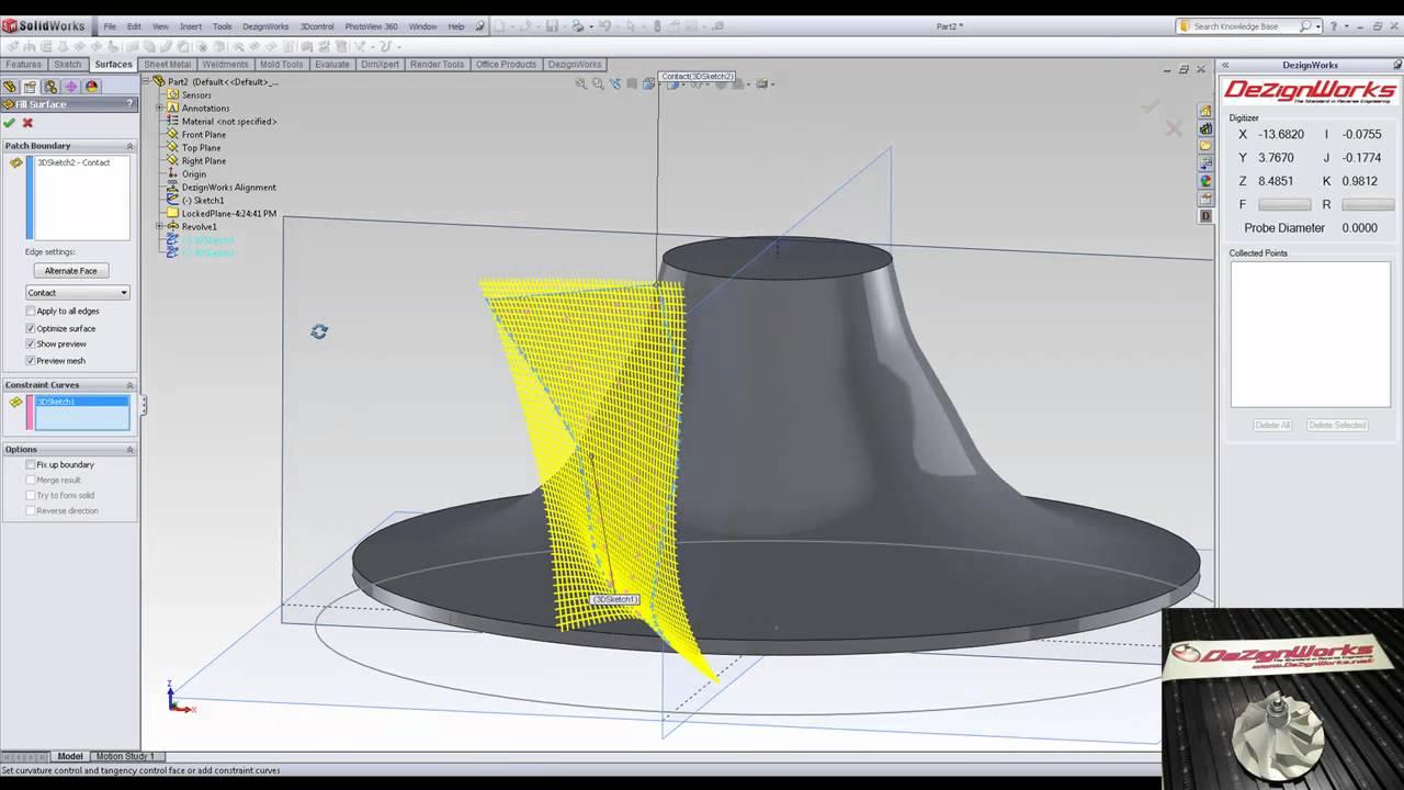 catia reverse engineering tutorial pdf