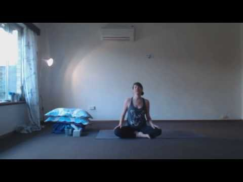 Healing Yoga. Immune system, colds, flu, asthma, lung capacity, stress relief & heart opening.
