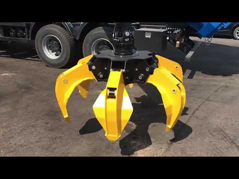 Грейферный захват для металлолома ВЕЛМАШ RG-25 на ломовоз