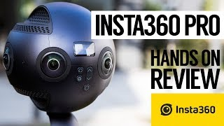 Insta360 Pro 8K 360 / 6K 3D Virtual Reality Camera Detail Review   8K解析度的360度全景相機分析和評價