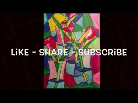 Amazing Race Art Journal France  Cubism