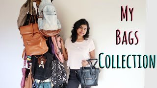My Bags Collection Haul - College Backpacks for Girls 2017 | AdityIyer