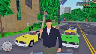 GTA 3 with Nintendo 64 Graphics (GTA 3 Lowest Settings)