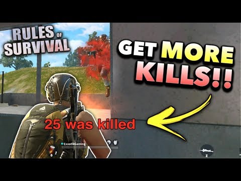 How to Get MORE Kills and WIN!! | Rules of Survival (Tips and Tricks)