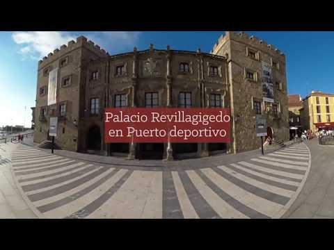 Vídeo 360º de Gijón (Asturias) - Ruta Vía de la Plata