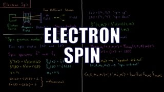 Quantum Chemistry 7.11 - Electron Spin