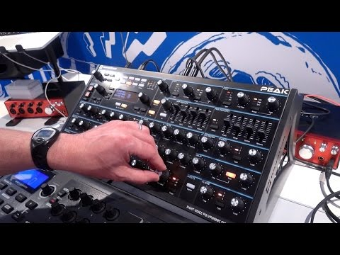 Novation Peak & Circuit Mono Station @ Superbooth17