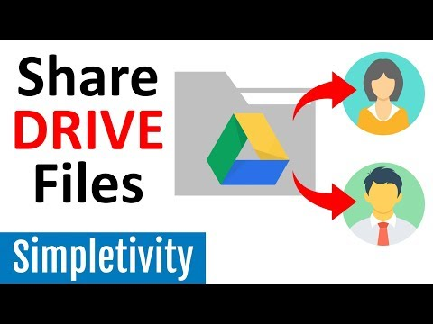 How To Share Google Drive Files & Folders With A Link